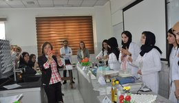 A workshop entitled: Traditional home-made medications and preparations; 29.10.2019
