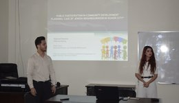 Presentation of a graduation thesis