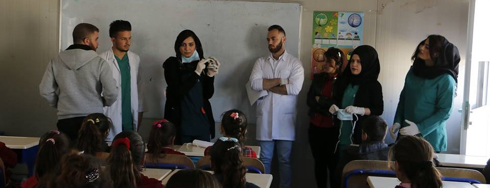 College of Dentistry visited Qaddiyah Camp