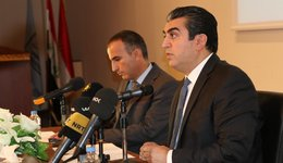 A seminar about new KRG cabinet by Mr. Ferhad Atrushy