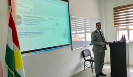 "A workshop entitled: ""Quality assurance system and how to create google scholar account"", By Mr. Ghazwan Ahmed"