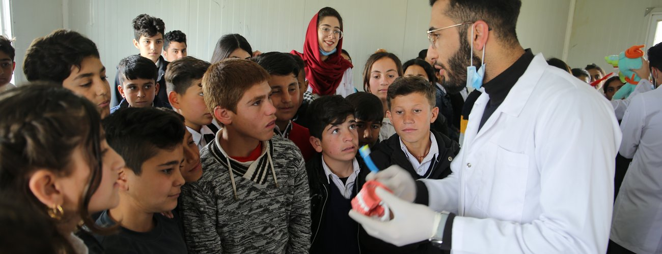 College of Dentistry visits IDP and refugee camps