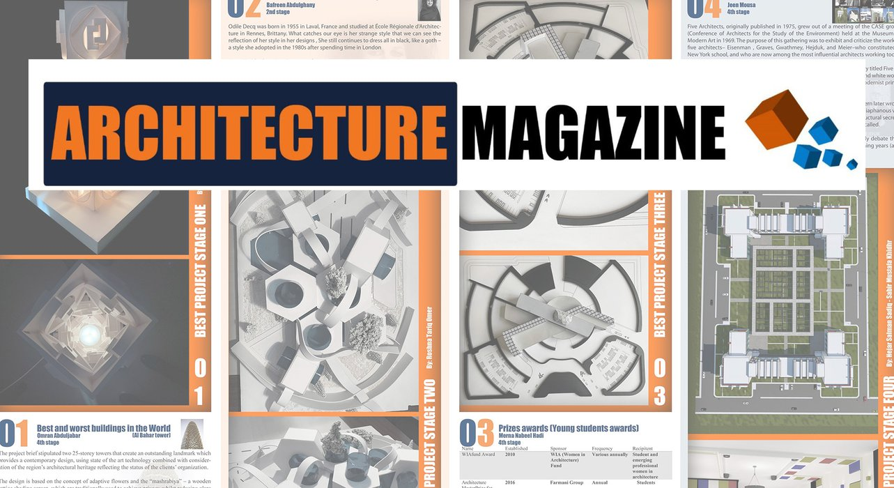 First Issue of the Architecture Magazine is Out