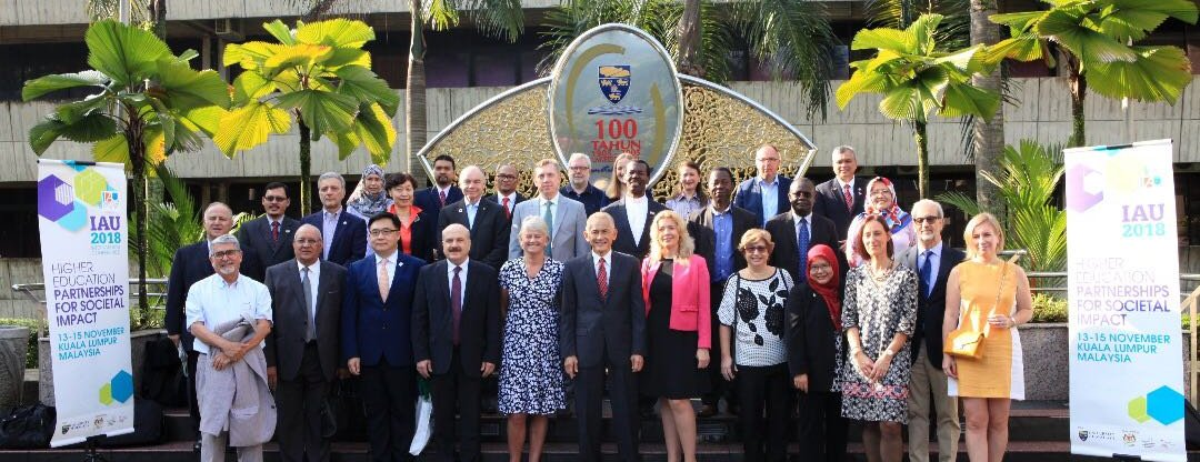 President of UoD participates in the IAU Conference in Malaysia