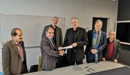 The University of Duhok signs an Agreement with the THM University in Germany for the Biomedical Eng. Department