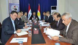 Session to discuss the draft refugee law in the Office of the Iraqi Parliament Council   / branch of Dohuk