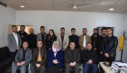 The visit of the College of Dentistry Council to the Kurdistan Student Union