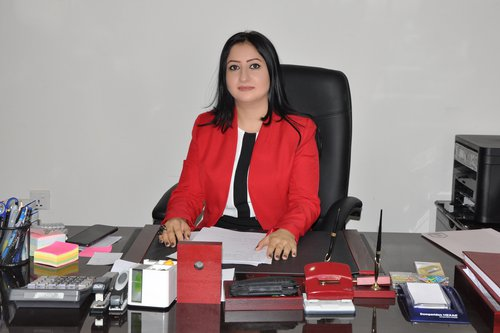 Dr. Dina Kako. Head of the Pharmaceutics Department