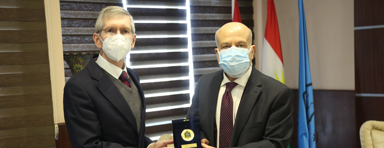 American Consul General in Erbil Visits UoD