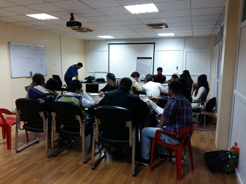 English Language Course for DRC Organization