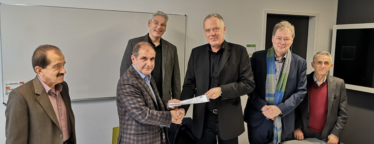 lnter-Institutional Agreement  between  THM University, Germany and UoD on double Degree program
