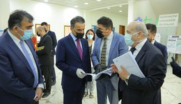 Minister of Higher Education and Scientific Research visit the College of Spatial Planning