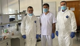 THE COLLEGE OF PHARMACY AT UNIVERSITY OF DUHOK PRODUCES VTM TO TEST THE SARS-COV2 VIRUS; 05.04.2020