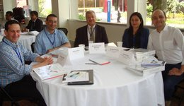 A faculty member participated in the 2016 Water Diplomacy Workshop in USA