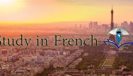 Scholarship opportunity to study Master at The France