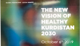 THE NEW VISION OF HEALTHY KURDISTAN 2030 OCTOBER 6th 2019