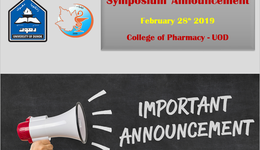 An important Announcement: Mitochondrial Medicine Symposium